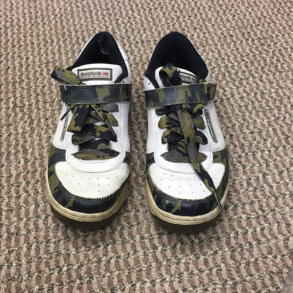 Reebok Classic Sneaks With Camo Detailing  ab83bdf856a0d